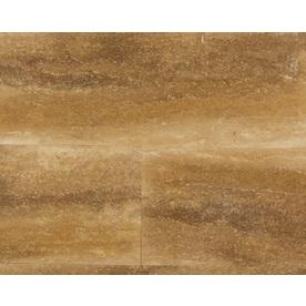 Bedrosians Bronze Filled & Honed Travertine Floor and Wall Tile (Common: 12-in x 24-in; Actual: 12-in x 24-in)