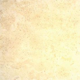 Bedrosians 16-in x 16-in Ivory Travertine Floor Tile