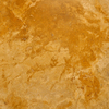 Bedrosians 18-in x 18-in Gold Travertine Floor Tile
