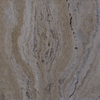 Bedrosians 12-in x 12-in Beige Travertine Floor Tile