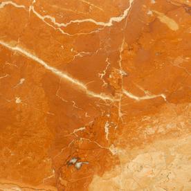 Bedrosians 12-in x 12-in Red Marble Floor Tile