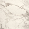 Bedrosians 20-in x 20-in Carrara Statuary Glazed Porcelain Floor Tile