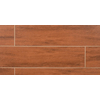 Bedrosians 11-Pack 6-in x 24-in Prestige Cherry Glazed Porcelain Floor Tile