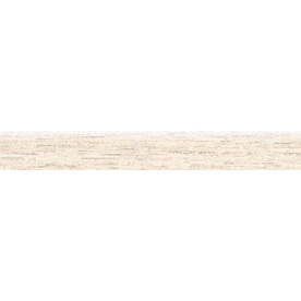 Bedrosians Silk Road White Porcelain Bullnose Tile (Common: 3-in x 20-in; Actual: 2.75-in x 19.75-in)