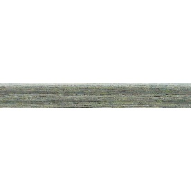 Bedrosians Silk Road Iron Porcelain Bullnose Tile (Common: 3-in x 20-in; Actual: 2.75-in x 19.75-in)