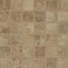 Bedrosians Roma Noce Glazed Porcelain Mosaic Square Indoor/Outdoor Floor Tile (Common: 13-in x 13-in; Actual: 12.875-in x 12.875-in)