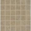 Bedrosians Roma Almond Glazed Porcelain Mosaic Square Indoor/Outdoor Floor Tile (Common: 13-in x 13-in; Actual: 12.875-in x 12.875-in)