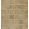 Bedrosians Fantasia Almond Glazed Porcelain Mosaic Square Indoor/Outdoor Floor Tile (Common: 13-in x 13-in; Actual: 12.875-in x 12.875-in)