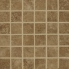 Bedrosians Fantasia Taupe Uniform Squares Mosaic Porcelain Floor Tile (Common: 13-in x 13-in; Actual: 12.875-in x 12.875-in)