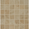 Bedrosians Roma Beige Glazed Porcelain Mosaic Square Indoor/Outdoor Floor Tile (Common: 13-in x 13-in; Actual: 13-in x 13-in)