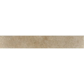 Bedrosians Eddie Beige Porcelain Bullnose Tile (Common: 3-in x 20-in; Actual: 2.75-in x 19.75-in)