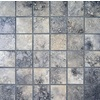 Bedrosians Verona Olive Uniform Squares Mosaic Porcelain Floor Tile (Common: 13-in x 13-in; Actual: 12.875-in x 12.875-in)