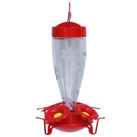 Garden Treasures Hummingbird's Favorite Glass Feeder