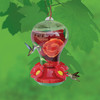 Garden Treasures Glass Hummingbird Feeder