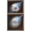 allen + roth Antiqued Fluted Glass Finial Box Set (2-Pack Silver)