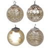 allen + roth 4-Pack Gold Ornament Set