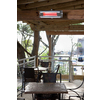 Well Traveled Living 5,118-BTU Silver Stainless Steel Electric Patio Heater