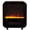 Fire Sense 12-in W 5,118-BTU Black Metal Fan-Forced Electric Stove