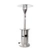 Fire Sense 48,000-BTU Silver Stainless Steel Floorstanding Liquid Propane Patio Heater