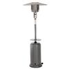 Fire Sense 44,000-BTU Silver Steel Floorstanding Liquid Propane Patio Heater