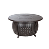 Fire Sense 47-in W 40,000-BTU Bronze Portable Aluminum Liquid Propane Fire Pit