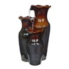 Style Selections 3-Vase 2-Tier Indoor Fountain with Pump