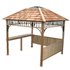 Outdoor Living Today 10-ft x 10-ft x 9-ft Natural Cedar Wood Gazebo