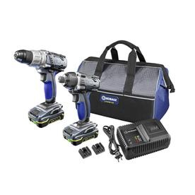 Kobalt 18-Volt Lithium Ion Drill/Driver and Impact Driver Kit