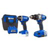 Kobalt 24-Volt Max Lithium Ion (Li-ion) Brushless Motor Cordless Combo Kit with Soft Case