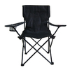 Garden Treasures Black Steel Camping Chair