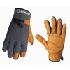 Kobalt Large Men's Leather Palm Work Gloves