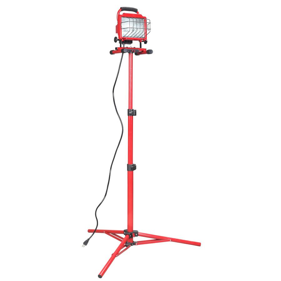 Halogen Lights For Shop: Shop Utilitech 1-Light 500-Watt Halogen Stand Work Light