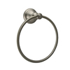 allen + roth Mitchell Brushed Nickel PVD Wall Mount Towel Ring