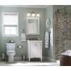 allen + roth 3-Piece Mitchell Brushed Nickel PVD Decorative Bathroom Hardware Set