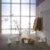 Project Source 4-Piece Seton Polished Chrome Decorative Bathroom Hardware Set