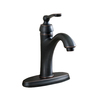 AquaSource Norcroft 1-Handle Single Hole/4-in Centerset WaterSense Bathroom Faucet (Drain Included)