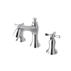 Jacuzzi Taborfield Polished Chrome 2-Handle Widespread WaterSense Bathroom Faucet (Drain Included)