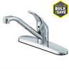 Project Source Chrome 1-Handle Low-Arc Kitchen Faucet