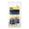 Blue Hawk 3-Pack Polyester Angle Sash Paint Brush Variety Pack (Common: 2.5-in; Actual: 2.5-in)
