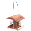 Garden Treasures Natural Cedar Cedar Suet Bird Feeder