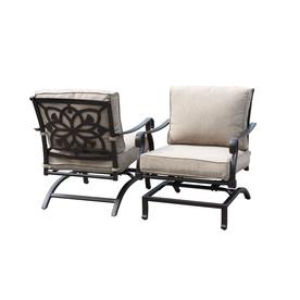 Perfect Display Product Reviews For Ebervale 2 Count Aged Bronze Aluminum Rocking  Patio Conversation Chairs With