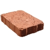 Pacific Clay Fulton 6-in x 6-in Red Natural Stone Rectangle Paver (Actuals 6-in W x 6-in L)
