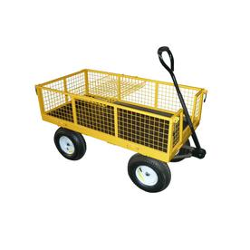 Garden Plus 6 cu ft Steel Yard Cart