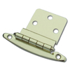 Gatehouse 2-Pack 2-3/4-in x 2-1/8-in Polished Brass Surface Cabinet Hinges