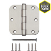 Gatehouse 3-1/2-in Satin Nickel Entry Door Hinge
