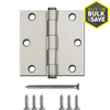 Gatehouse 3-in Satin Nickel Entry Door Hinge