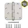 Gatehouse 4-in Satin Nickel Entry Door Hinge