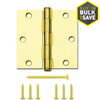 Gatehouse 3-1/2-in Polished Brass Entry Door Hinge