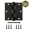Gatehouse 3-1/2-in Oil-Rubbed Bronze Entry Door Hinge