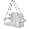 Garden Treasures White Wood Platform Bird Feeder